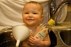 Ce N'est Pas Que Pour Bébé ! 9 Utilisations du Shampoing Pour Bébé.