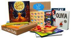 Little Fun Club ... receive three fun children's books, puzzles or games per month