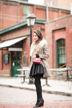 Falling for Fall :: Leopard coat