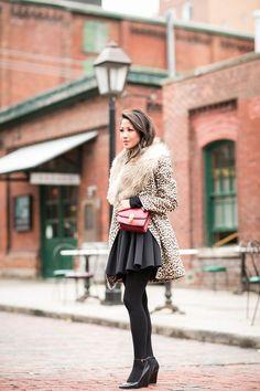 Falling for Fall :: Leopard coat
