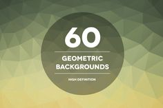 60 Geometric Backgrounds by Theme Trunk on @creativemarket