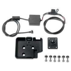 Garmin Mounting Cradle by Garmin. $41.98. Keep your nuvi securely in view during your off road adventures. Kit includes mounting hardware and bare wire power cable to had wire your nuvi to your nuvi to your ATV, boat, or motorcycle.
