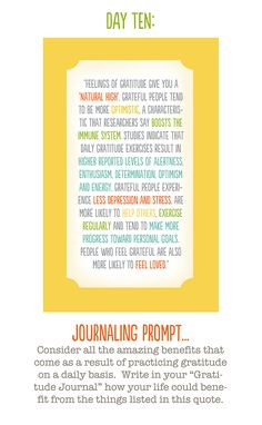 Good reminders! Journaling start offs