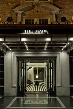hotel the mark Check the restaurant inside the hotel order the black truffle pizza!!