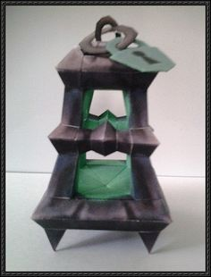 League of Legends - Thresh Lantern Free Papercraft Download