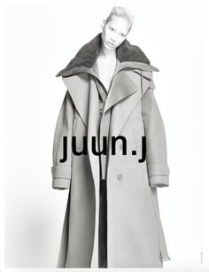 Juun J campaign Fashion 2020, Fashion Brands, Kids Fashion, Fashion Show, Autumn Fashion, Juun J, Figure Photo, Puffy Jacket, Fashion Labels