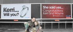 #shesaidyes #billboard  http://outofhomeinternational.blogspot.co.uk/2013/01/here-comes-billboard.html