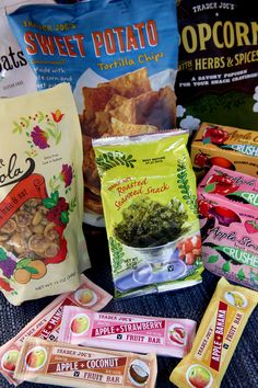 While fresh fruit and veggies are always a healthy choice, here is a list of its best gluten-free packaged snacks from Trader Joe's.