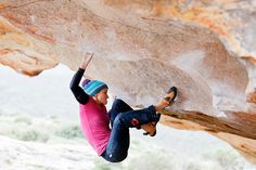 www.boulderingonline.pl Rock climbing and bouldering pictures and news Climber: Anna Stohr