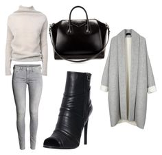 Wintergreys by vanessagutaj on Polyvore featuring polyvore, fashion, style, Rick Owens, Pierre Balmain and Givenchy