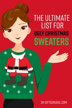 96a715b642031 The Ultimate List of Ugly Christmas Sweaters. Mens Ugly Christmas  SweaterDiy GiftsCool ...
