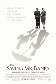 saving mr banks poster Metal Sign Wall Art 8in x 12in