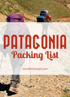 Is trekking Torres Del Paine in Chile on your travel bucket list? Read our Patagonia packing list for everything you need to know!