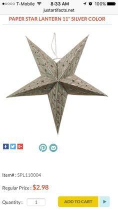 http://www.justartifacts.net/star-paper-lantern-11quot-silver-col11.html