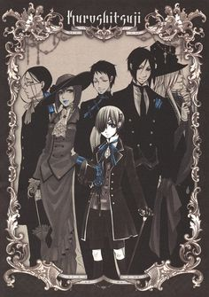 Black butler. My current obsession :)