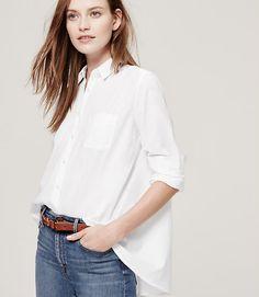 Image of Swingy Softened Shirt