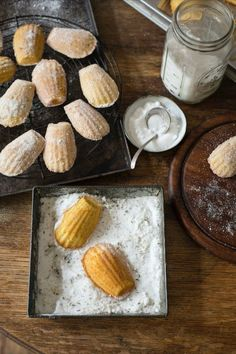 A step by step guide on how to make easy madeleines