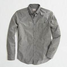 J.Crew Factory - Factory slim heather shirt - $38