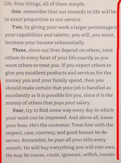 Excerpt from Principles by Ray Dalio (Founder of Bridgewater and Investment Legend) Ray Dalio, Life Skills, Food For Thought, Girl Boss, Book Worms, Personal Development, Success, Tools, Thoughts