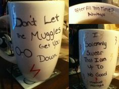 Harry Potter diy coffee mug!