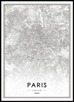 Paris, poster