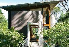 small houses in australia - Google Search Granny Flat, Facade, Tower, House Design, Cabin, Studio, Architecture, Outdoor Decor, Small Houses