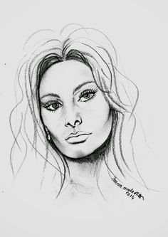 Drawing his portrait from photo, please send the photo and address by email, within 5 to 15 days receive . Portraits From Photos, Sophia Loren, Female, Drawings, Art, Log Projects, Art Background, Kunst, Gcse Art