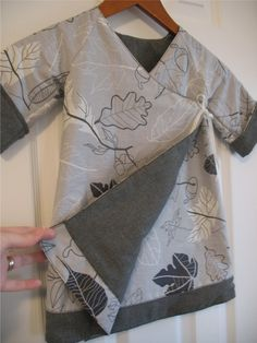 Sweet Wrap Reversible Dress pattern and tutorial by heidiandfinn, $6.00