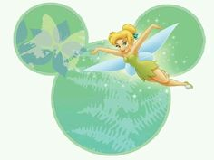 Tinkerbell and Friends in Mickey Heads. Tinkerbell und Freunde in Mickey Heads. Tinkerbell And Friends, Tinkerbell Disney, Peter Pan And Tinkerbell, Peter Pan Disney, Disney Fairies, Mickey And Friends, Baby Disney, Disney Love, Disney Magic