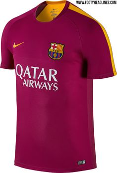 c7100af9a The new Barcelona 2016 Pre-Match and Training Shirts by Nike introduce  striking looks for the Catalans