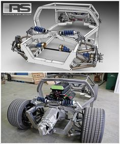 """Here is an intense one for the entire team at @roadstershop . Twin turbo 351 Windsor 1500+ HP mid engine monocoque style perimeter chassis for a De…"""