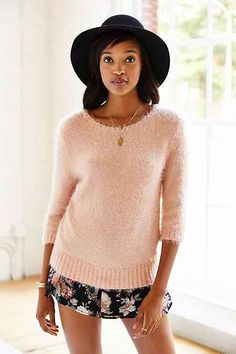 KNITZ By For Love & Lemons Ski Bunny Sweater
