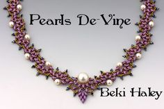 Pearls De-vine  Class at Bead&Button 2014 June 8th 9-noon - Mitchell room at the Hilton