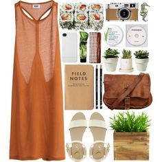 Summer's coming! by vv0lf on Polyvore featuring Dune, Incase, The Body Shop, Mason Pearson, MTWTFSS Weekday, Hermès and KEEP ME