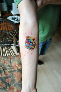 rubi cube tattoo costom costom tattoo naga art&tattoo eskişehir tr