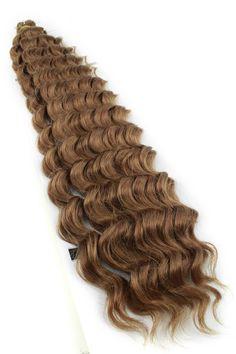 "Janet Collection Noir Deep Twist Braiding Hair 24"""