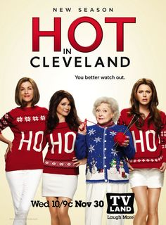 """""""Hot in Cleveland"""" HO HO HO! lol luv this pic, too funny =)"""