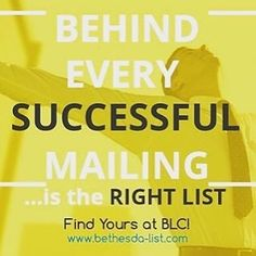 Find you next list at BLC! Direct Marketing, Finding Yourself, Success, Instagram