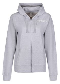 In classic sportswear grey, this Zoodie co-ordinates with everything from Lycra to denim. Whether you're training hard or taking the day off, it's a great all-rounder and perfects your athleisure look.  Ideal to wear for warm-ups, travelling, the school run or yoga flows, the soft cotton faced fabric is kind to skin and adds a welcome layer when it's chilly. The deep hem and drop shoulder style offer a girlie fit with full-length zip so you can easily shed layers mid-exercise. The School Run, Yoga Flow, Train Hard, Athleisure, Hooded Jacket, Travelling, Sportswear, Layers, Training
