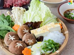 "Shabu Shabu Recipe ""Shabu Shabu (しゃぶしゃぶ) is a Japanese hot-pot meal where very thin slices of beef are momentarily (few seconds) cooked in hot broth. It is the savoury cousin of the sweeter sukiyaki."""