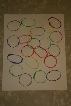 Your child will learn the relationship between circles and ovals with this simple craft.
