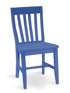 Cafe Side Chair, China Blue