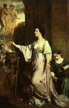 .:. Lady Sarah Bunbury Sacrificing to the Graces, 1765 Joshua Reynolds