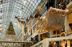 Stock photo of Christmas Decoration in a Shopping Mall