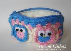 Corujinhas💗💗Little owls!! #croche #crocheting #corujadecrochê #bolsadecroche #amo #adoro