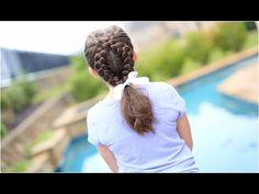 Dutch Loop Braid | Cute Girls Hairstyles - YouTube