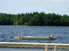 View of Phillips Island from the Camp Sandy Beach Waterfront. A 2014 image by David R. Brierley.  #Yawgoog