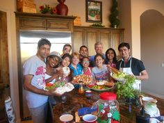 The Community College Initiative Program students attend cooking classes this week. The international students learned to cook delicious healthy southwestern dishes from Chef Kim Robinson who shared her expertise and love of organic herbs and spices. A yummy time for all! Photo credit to Bhoopali Nandurkar.