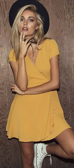 #summer #princesspollyboutique #outfits | Wild Honey Wrap Dress