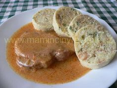 Kotlety na paprice Snack Recipes, Cooking Recipes, Snacks, Czech Recipes, Recipies, Pork, Meals, Czech Food, Breakfast
